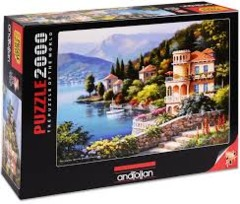 Anatolian Puzzle - Lakeside Vila - 2000 pc