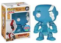 Funko POP Games Vinyl Figure New York Comic Con Limited Edition Exclusive God of Wars Kratos (Poseidon's Rage) 25