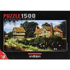 Anatolian Puzzle - Chicken in Lane 1500 pc