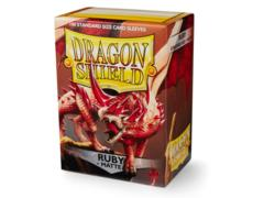 Dragon Shield Card Sleeves Box of 100 in Matte Ruby