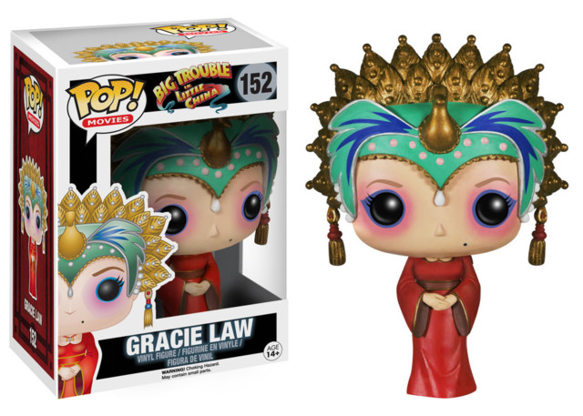 Funko POP Vinyl Figure Big Trouble in Little China Gracie Law 152 - VAULTED