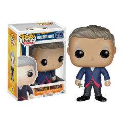 Funko POP Vinyl Figure Doctor Who Twelfth Doctor 219