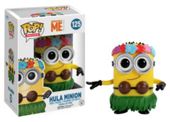 Funko POP Vinyl Figure Minions Despicable Me Hula Minion 125 - VAULTED
