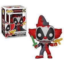 Funko POP Vinyl Bobble-Head Figure Marvel Deadpool - Clown Deadpool 322