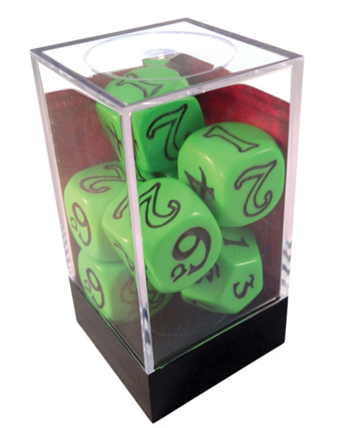 The One Ring Dice Set (Green)