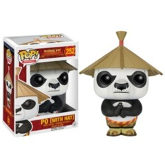 Funko POP Vinyl Figure Movies Dreamworks Kung Fu Panda - Po (with Hat) 252
