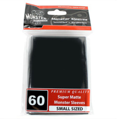 Monster 60ct Black Super Matte - Small Sized