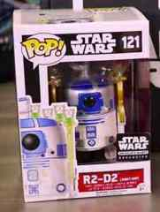Funko POP Vinyl Bobble-Head Figure Star Wars The Force Awakens R2-D2 (Jabba's Skiff) 121- Smuggler's Bounty EXCLUSIVE
