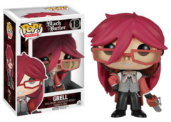 Funko POP Vinyl Figure Animation Black Butler Grell 18
