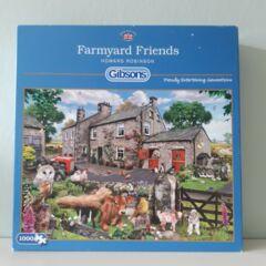 Gibsons Puzzle - Farmyard Friends100 pc XXL