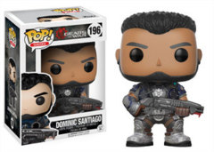 Funko POP Games Vinyl Figure Gears of War - Dominic Santiago 196