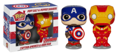 POP! Home Ceramic Salt & Pepper Shakers Marvel Avengers Age of Ultron - Captain America & Iron Man