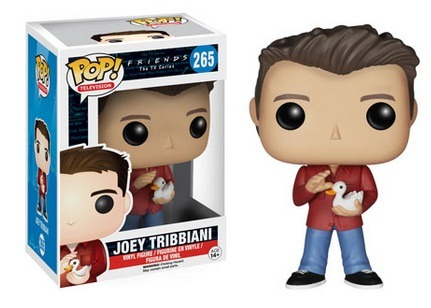 Funko POP Vinyl Figure Television FRIENDS the TV Series - Joey Tribbiani  265 - VAULTED