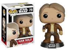 Funko POP Vinyl Bobble-Head Figure Star Wars The Force Awakens Han Solo 79