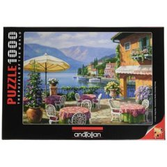 Anatolian Puzzle - Cafe Lago 1000 pc