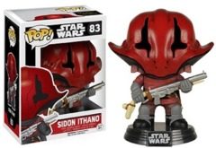 Funko POP Vinyl Bobble-Head Figure Star Wars The Force Awakens Sidon Ithano 83