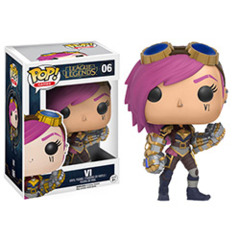 Funko POP Games Vinyl Figure League of Legends - Vi 06