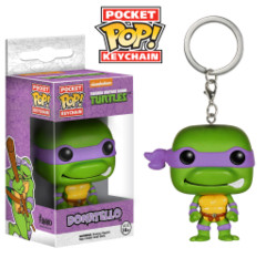 Funko POP Pocket POP TMNT Teenage Mutant Ninja Turtles Donatello Keychain