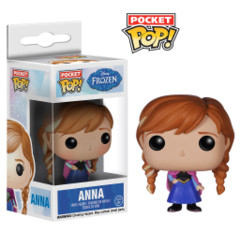 Funko POP Pocket POP Disney Frozen Anna Keychain