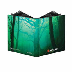 Ultra Pro- Magic Unstable Forest Pro Binder Side-Loading 9 Pocket - Holds 360 Cards