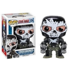 Funko POP Vinyl Bobble-Head Figure Marvel Captain America Civil War - Crossbones 134 - VAULTED