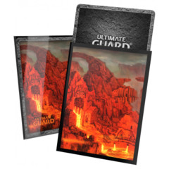 Ultimate Guard - Deck Protector Lands Edition 2 - Red