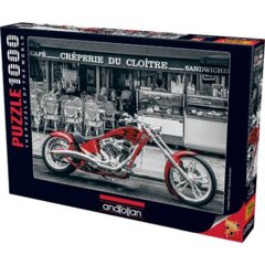 Anatolian Puzzles - Red Chopper 1000 pc