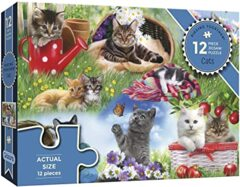 Gibsons Puzzle - Cats 12 pc Jumbo