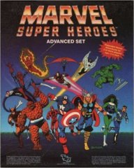 Marvel Super Heroes: Advanced Set [BOX SET] RETRO 1986