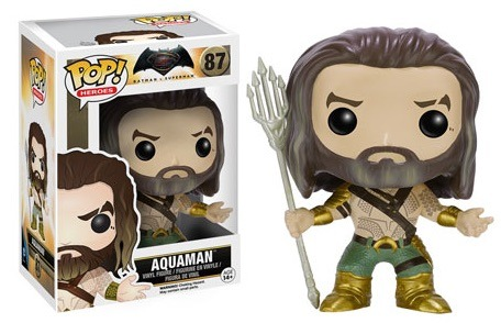 Funko POP Vinyl Figure Heroes Batman vs Superman - Aquaman 87 - VAULTED