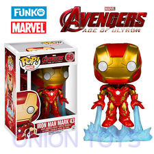 Funko POP Vinyl Bobble-Head Figure Marvel Avengers Iron Man Mark 43 #66 - VAULTED