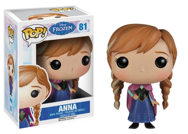 Funko POP Vinyl Figure Disney Frozen Anna 81