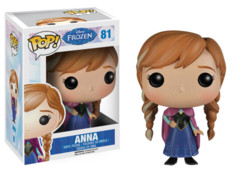 Funko POP Vinyl Figure Disney Frozen Anna 81