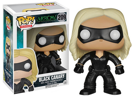 Funko POP Vinyl Figure Arrow the Television Series Black Canary 209
