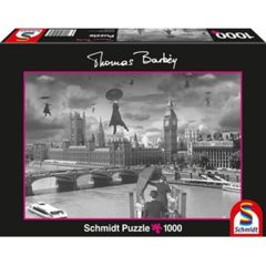 Schmidt Spiele Puzzles Puzzle: 1000 Blown Away - Thomas Barbey