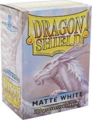 Dragon Shield Card Sleeves Box of 100 in Matte White