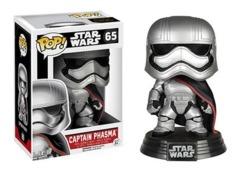 Funko POP Vinyl Bobble-Head Figure Star Wars The Force Awaken Captain Phasma 65 - VAULTED
