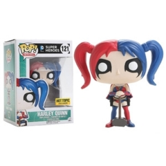 Funko POP Vinyl Figure DC Comics Super Heroes Harley Quinn (New 52)  121 - EXCLUSIVE
