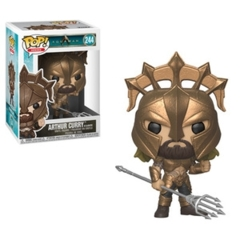 Funko POP Heroes Vinyl Figure DC Super Heroes - Aquaman The Movie - Arthur Curry (As Gladiator) 244