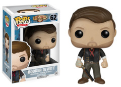 Funko POP Games Vinyl Figure Bioshock - Booker DeWitt 62