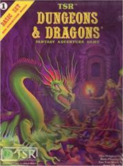 Dungeons & Dragons Basic Set Pink Box (Used)