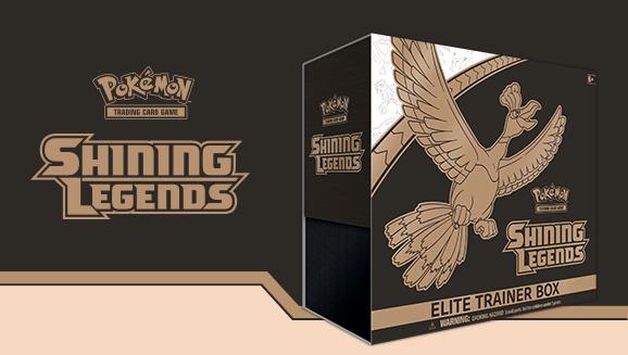 Pokémon TCG: Shining Legends Elite Trainer Box