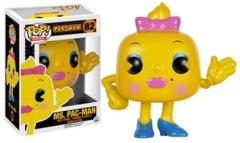 Funko POP Games Vinyl Figure Pac-Man - Ms. Pac-Man 82