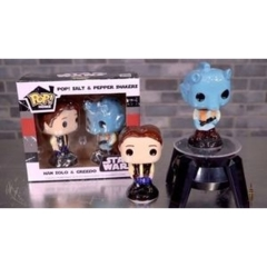 POP! Salt & Pepper Shakers - Star Wars Smugglers Bounty Exclusive - Han Solo & Greedo
