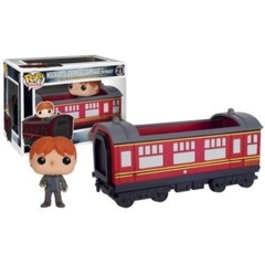 Funko POP Vinyl Figure POP Rides Harry Potter - Hogwarts Express Carriage with Ron Weasley 21
