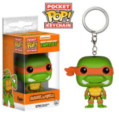 Funko POP Pocket POP TMNT Teenage Mutant Ninja Turtles Michelangelo Keychain