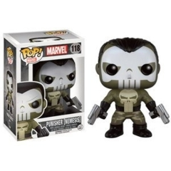 Funko POP Vinyl Bobble-Head Figure Marvel - Punisher (Nemesis) 118