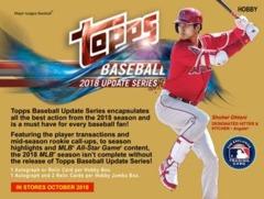 2018 Topps MLB Baseball Update Series - Hobby Pack