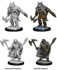 Nolzur's Marvelous Unpainted Miniatures - Half Orc Barbarian (Male)