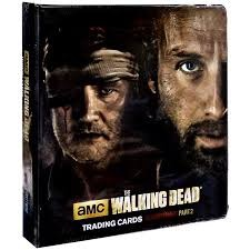 AMC The Walking Dead Trading Card Binder - Season Three Part 2